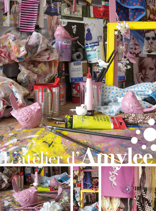 Dans l 39 atelier de l 39 artiste peintre amylee - Atelier artiste peintre ...